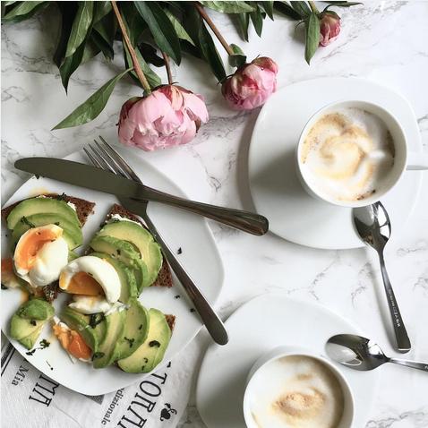 Frühstück Avocadobrot
