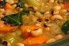 Black-Eyed Pea and Vegetable Soup
