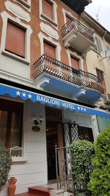 Fachada do Bagliori Hotel
