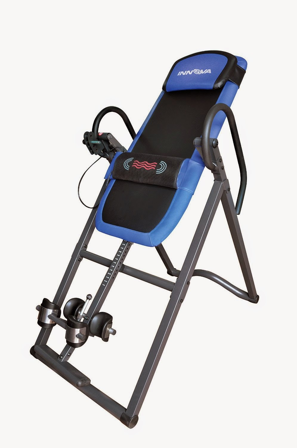 Innova ITM4800 Advanced Heat and Massage Therapeutic Inversion Therapy Table for back pain relief, reviewed