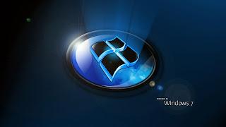 Win 7 3d operating system logo photos