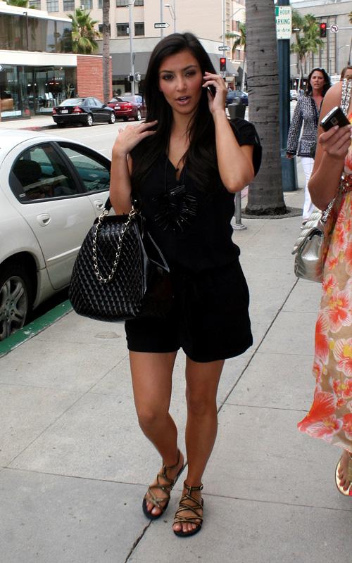 Troy Tashaz Blog Outfit Check Kim Kardashian On Black Outfits
