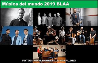 JAZZ y musicos del mundo 2019 BLAA
