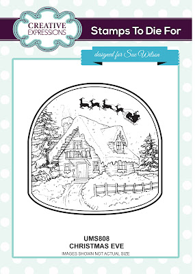 Creative Expressions Stamps To Die For Christmas Eve UMS808