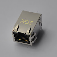 10/100 Base-T Tab Up RJ45 Jacks with LED