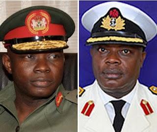 BREAKING: Buhari DROPS 2 Service Chiefs