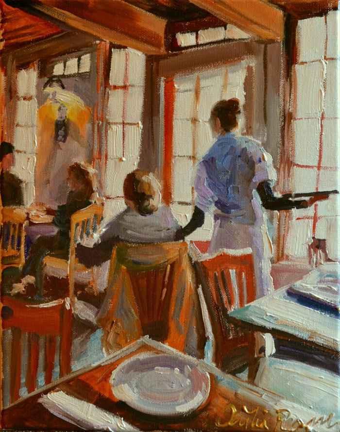 Южноафриканский художник. Cecilia Rosslee