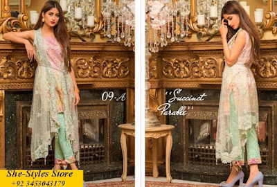 Qalamkar lawn 2017 with price