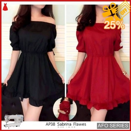 AFO223 Model Fashion Dress Flawes Modis Murah BMGShop