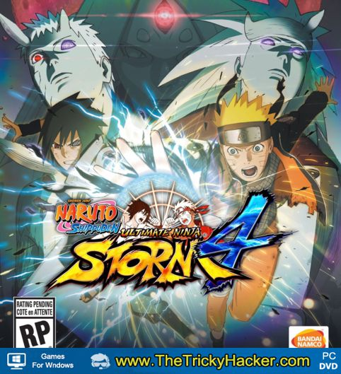 NARUTO SHIPPUDEN Ultimate Ninja STORM 4 Free Download Full Version Game PC