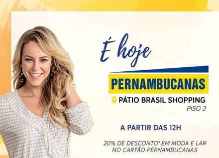 Pernambucanas inaugura loja no Pátio Brasil