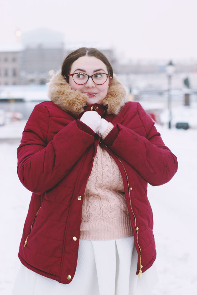 Plus size winter outfit ideas