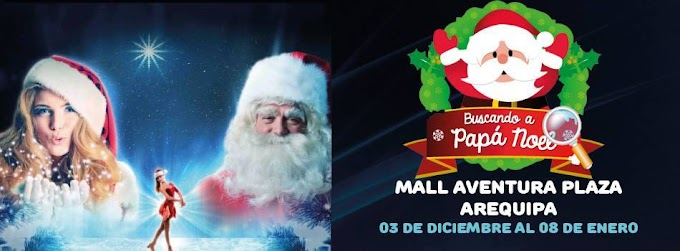 Buscando a Papá Noel, Mall Aventura Plaza - Hasta el 08 de enero