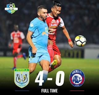 Persela Hantam Arema  FC 4-0