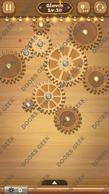 Fix it: Gear Puzzle [Gloves] Level 38 Solution, Cheats, Walkthrough for Android, iPhone, iPad and iPod