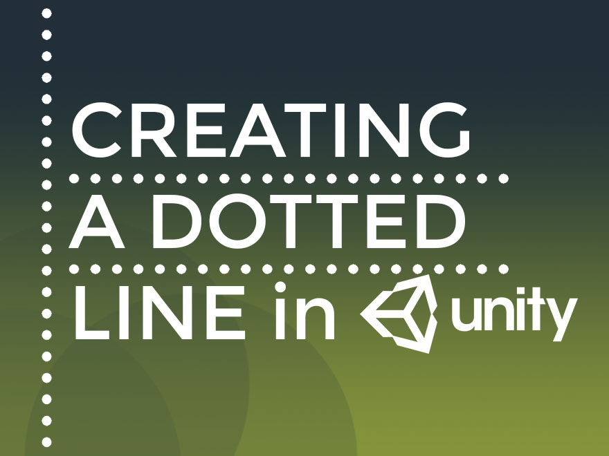 Creating a dotted line in Unity - Knowledge Scoops