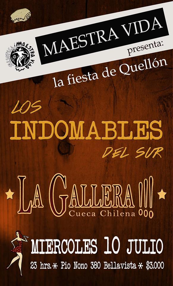 Los Indomables Tomado De: La Gallera Cueca Chilena: Los Indomables Del Sur Y La