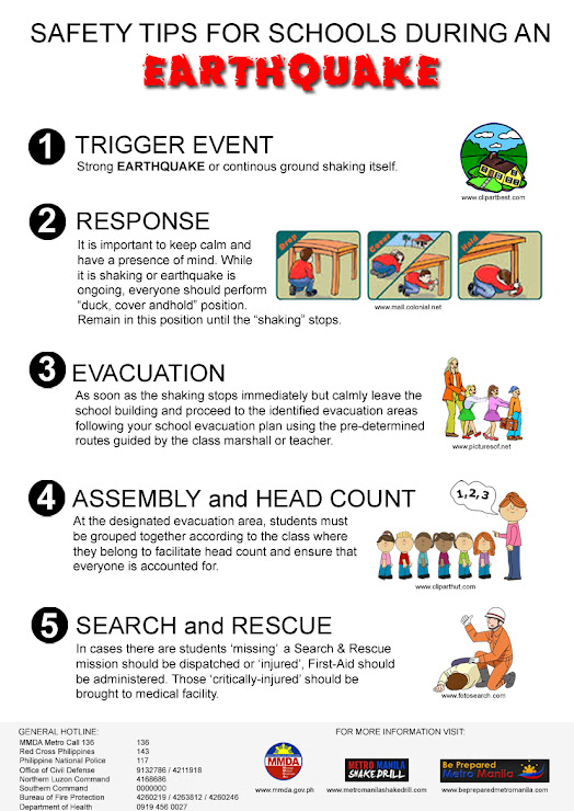 Safety Tips During Earthquake | Philippines Properties 101