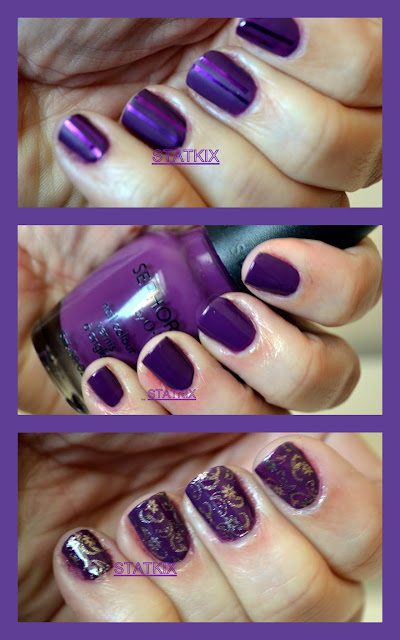 STATKIX - ESMALTE ROXO - SEPHORA BY OPI - WHAT A BROAD