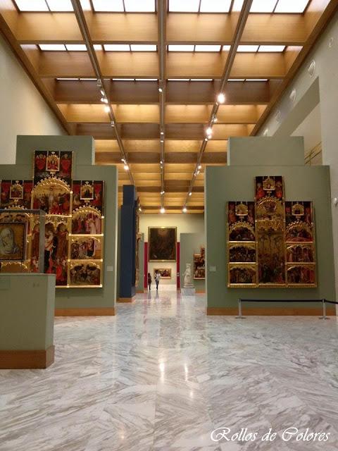 Retablos góticos Museo Bellas Artes Valencia