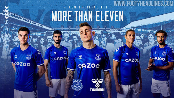 WWJJE 20//21 Everton Jersey Sweatshirt,Apply ToSuitable for Daily Wear and Football Training,Home Court Football Gift