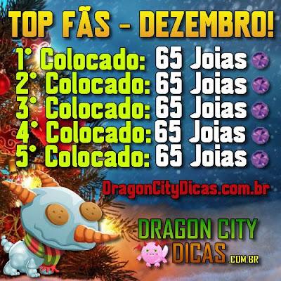 Promoção Top Fãs - Ganhe 65 Joias Grátis!