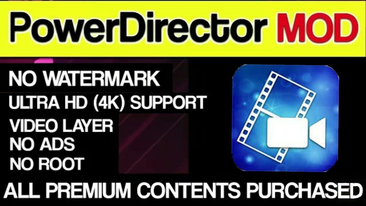 download powerdirector pro mod apk for pc