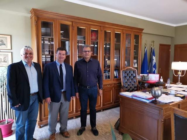 Στενή συνεργασία του Επιμελήτηρίου Αργολίδας με τον αντιπεριφερειάρχη Ι. Μαλτέζο