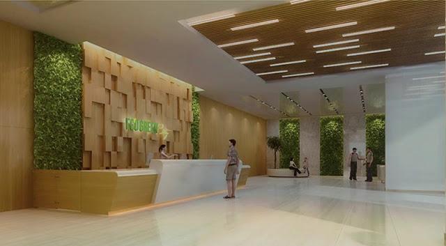 Sảnh chờ dự án Eco Green City