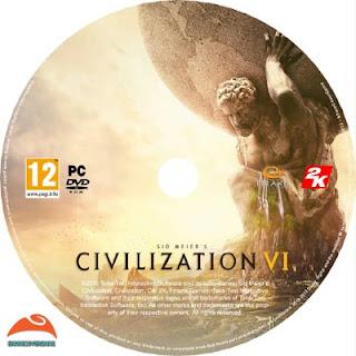 Sid Meier's Civilization VI Disc Label