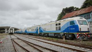 Primer prueba positiva para el Tren a Mar del Plata