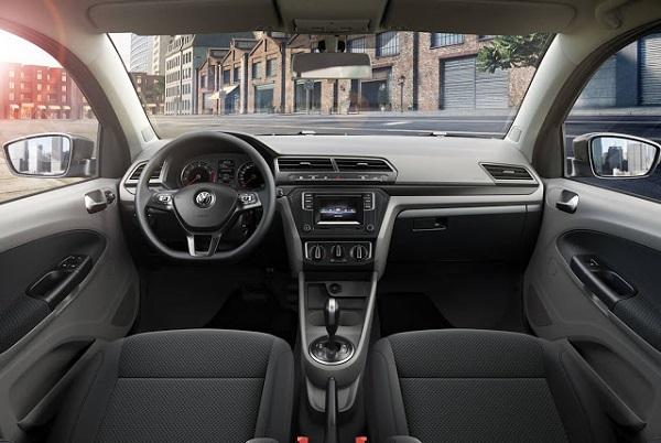 Volkswagen Gol Trend 2017 interior