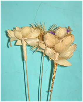 Gambar Bunga Kulit Jagung Gambar Bunga