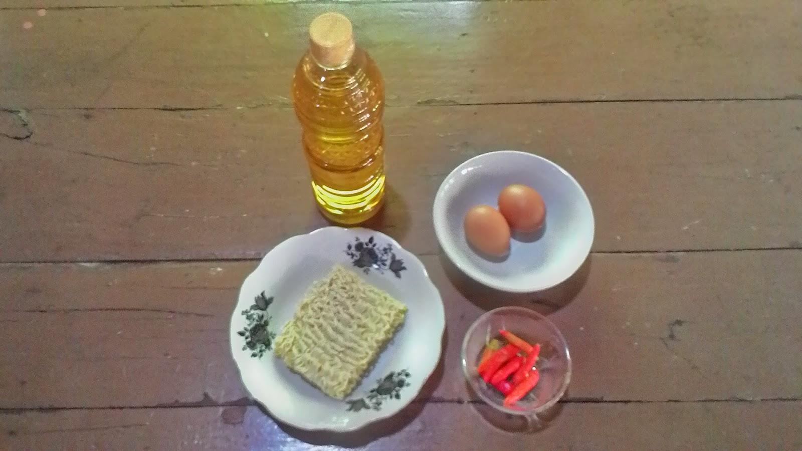 Resep Cara Membuat Omelet Mie
