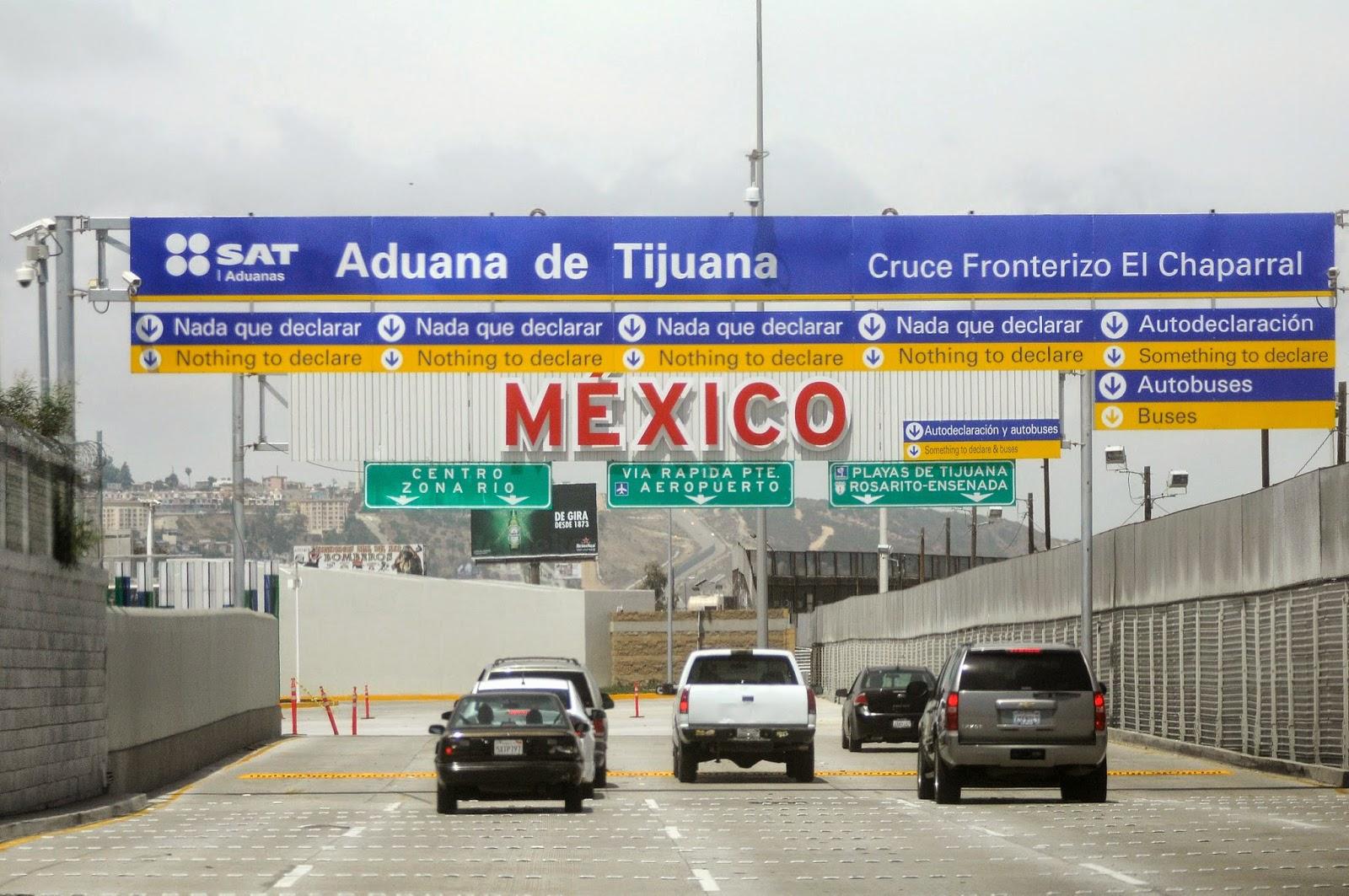Como atravessar a fronteira dos Estados Unidos com o México