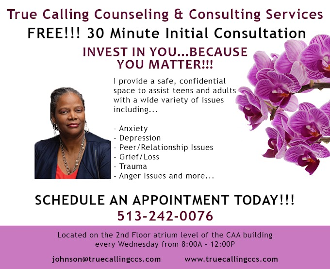 True Calling Counseling Services Available to Adults and Families