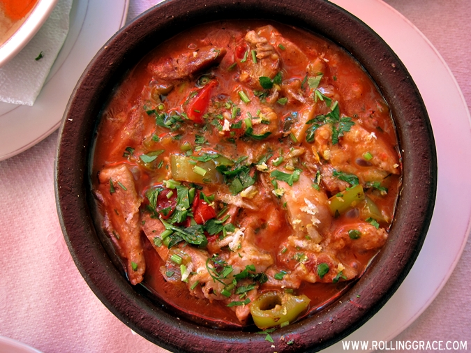 popular food in albania