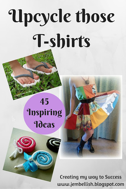 Upcycling T-shirts
