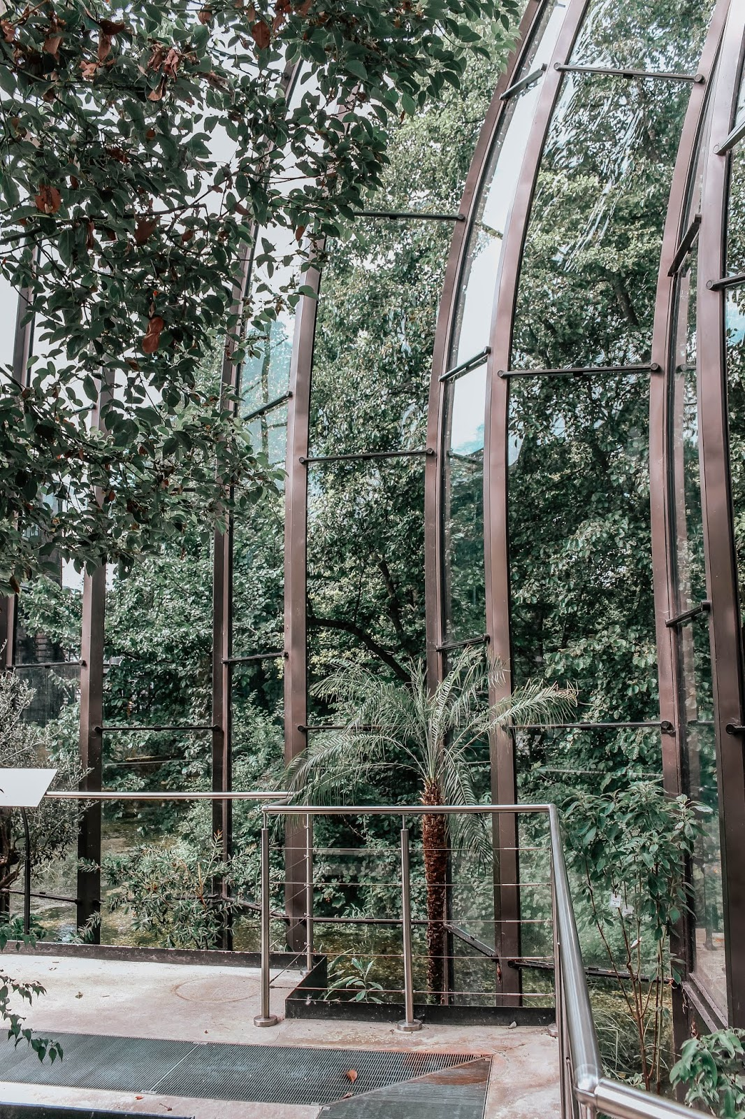 Bombay Sapphire Distillery Glasshouse Structure