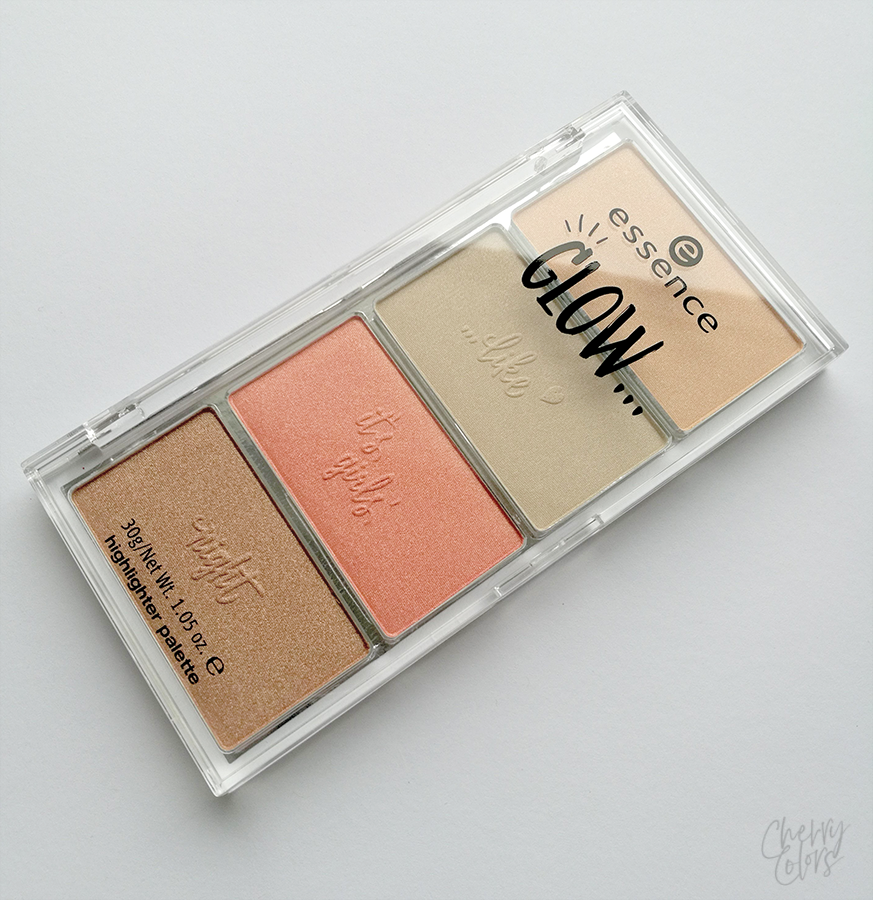 Essence GLOW TE highlighter palette