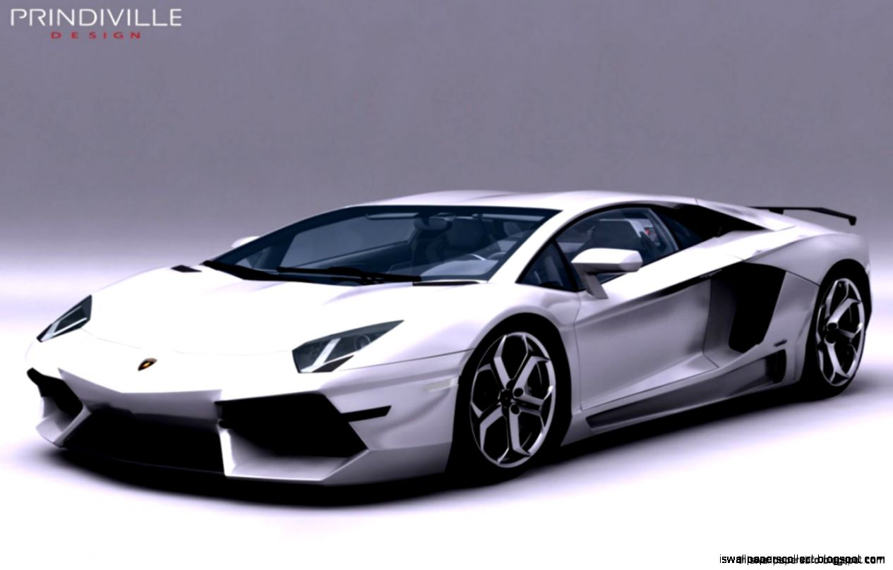 Foto Mobil Sport Lamborghini Aventador J Concept Wallpapers Collection