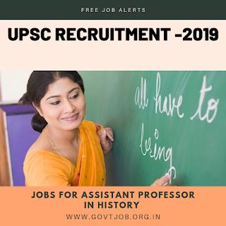 UPSC Recruitment-2019