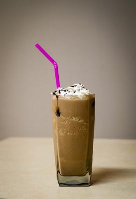 Coffee Milkshake with ice cream