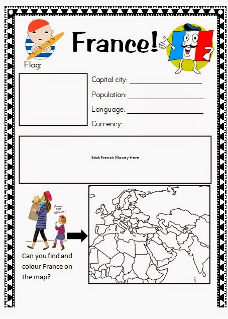 Around The World Summer Camp! Free Worksheets and Powerpoints! ~ Mrs ...