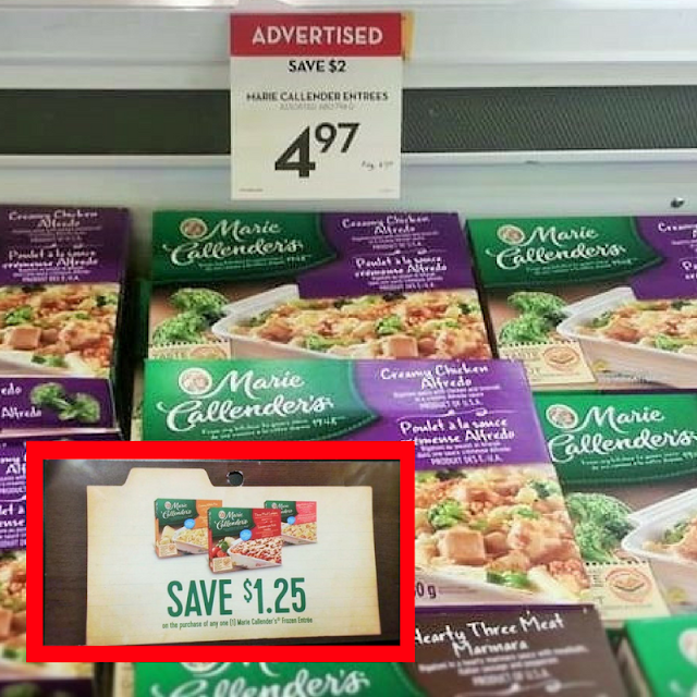 Hot Grocery Deal on Marie Callender's Meals