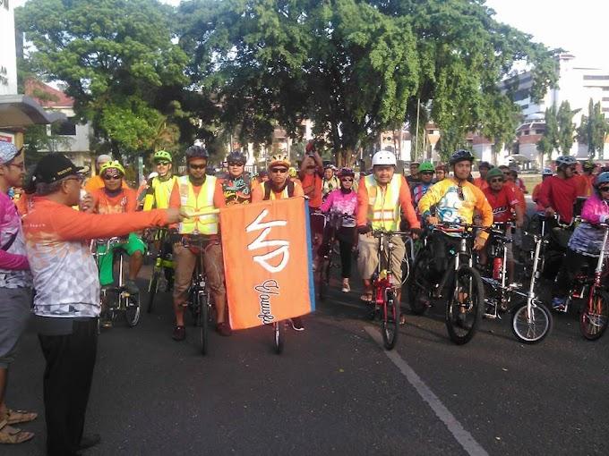 Jalur Sepeda di Margonda Belum Efektif