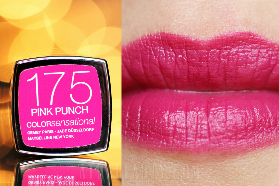 Maybelline • ColorSensational • 175 Pink Punch