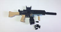 Mini Assault Rifle Toy Gun