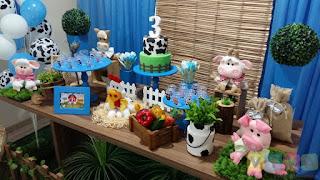 Decoração de festa infantil Fazendinha