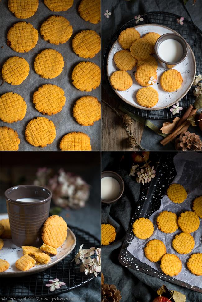 jesienne korzenne ciastka dyniowo-serowe